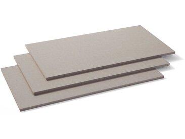 Rauch Packs Einlegeboden Zubehör 3er Set, grau Kunststoff 66 cm