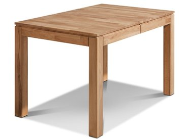 Esstisch mit Auszug Montana 120/170 x 80 cm /Wildeiche, 120 Holz