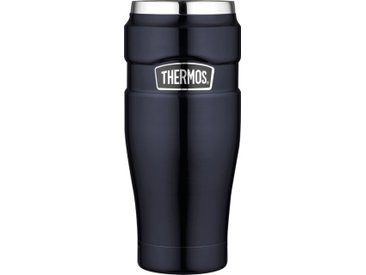 Thermos Thermosbecher Stainless King /Blau, Edelstahl