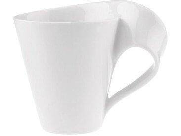 Villeroy & Boch Kaffeebecher New Wave /Weiß, Porzellan