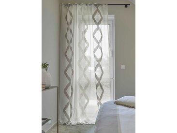 Fertiggardine Massimo 140 x 260 cm, braun Polyester