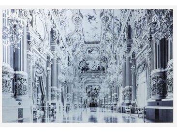 KARE Glasbild 120 x 80 cm Versailles 61987 /Grau, Glas