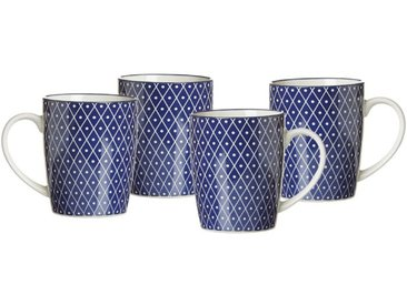 Ritzenhoff & Breker Kaffeebecher Reiko Royal 4tlg. /Blau