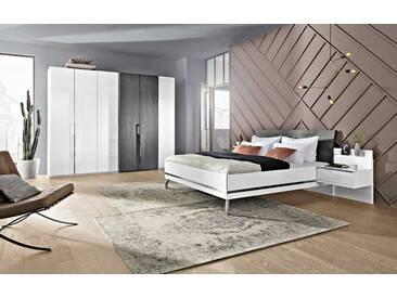 Nolte Möbel Schlafzimmer-Set Concept Me 4tlg., Weiß Holzoptik