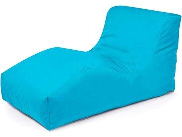 Outbag Sitzsack Liege Wave, Aqua Plus /Aqua, Polyester