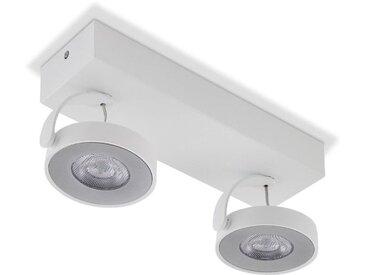 Philips LED-Strahler Clockwork /Weiß, Metall