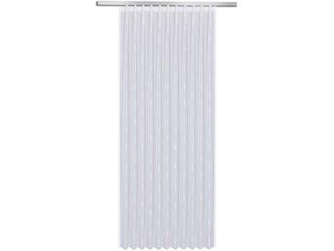 Fertiggardine Vera 245 x 450 cm, Weiß Polyester