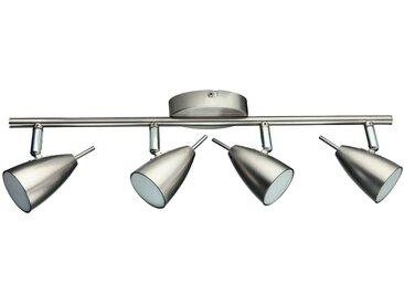 DesignLive LED-Strahler Glan, nickel Metall A+