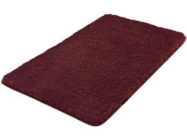 Kleine Wolke Badteppich Relax 85 x 150 cm, rot Polyester