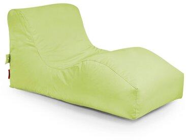 Outbag Sitzsack Liege Wave, Lime Plus /Lime, Polyester