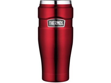 Thermos Thermosbecher Stainless King /Rot, Edelstahl