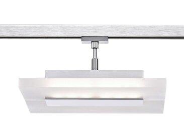 Fischer LED-Strahler HV-Track 4, nickel Alu, Eisen, Stahl &