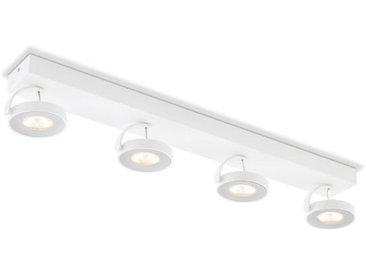 Philips LED-Strahler Clockwork /Weiß, Metall
