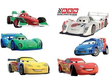 EUROART Sticker 25 x 35 cm Cars I