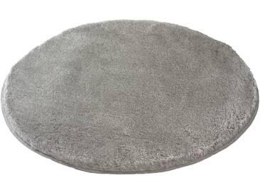 Kleine Wolke Badteppich Relax 100 cm, Grau Polyacryl