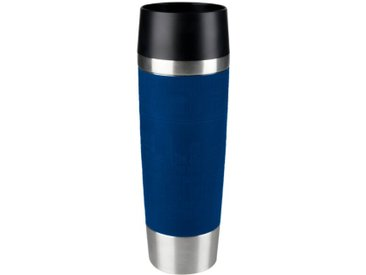 emsa Isolierbecher Travel Mug Grande /Blau, Edelstahl