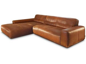 Willi Schillig Ecksofa 20560 william, braun Leder