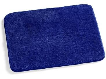 Kleine Wolke Badteppich Relax 70 x 120 cm, Blau Polyacryl