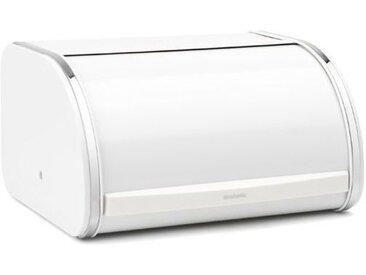 brabantia Brotkasten 31,6 x 26,2 cm /Weiß, Stahl