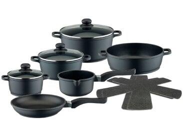 ELO Topfset Meine Küche 10tlg. /Schwarz, Aluguß