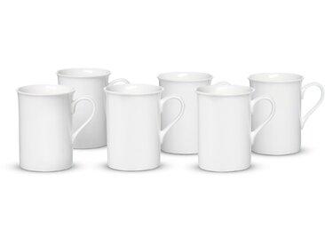 Ritzenhoff & Breker Kaffeebecher Bianco 6tlg., Porzellan