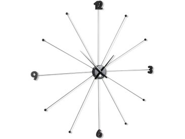 KARE Wanduhr Like Umbrella Ø100cm /Schwarz, Metall