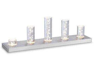 Paul Neuhaus LED-Tischleuchte Q-Skyline /Silber, Stahl