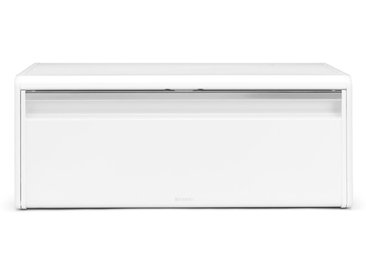 brabantia Brotkasten 46,5 x 25 cm /Weiß, Stahl