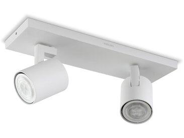 Philips LED-Strahler Hue Runner /Weiß, Alu, Eisen, Stahl & Metall