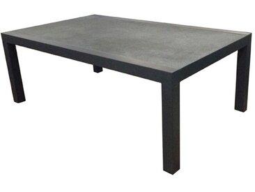 Loungetisch Riverton 120 x 70 cm /Schwarz, Aluminium