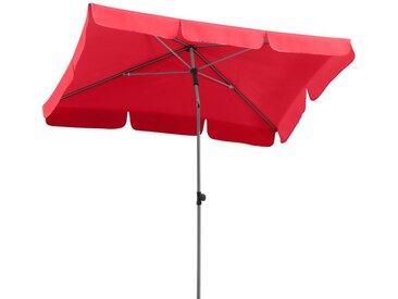 Schneider Schirme Balkonschirm Locarno 120 x 180 cm /Rot,