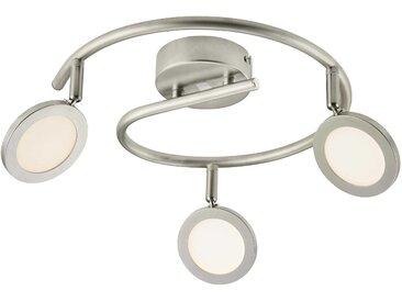Brilliant LED-Strahler Tulp, Nickel Metall A+