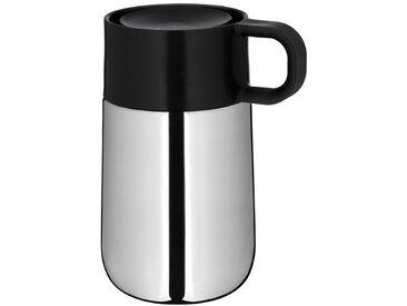 WMF Thermobecher Travel Mug Impuls /Silber, Edelstahl