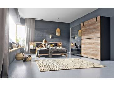 Nolte Möbel Schlafzimmer-Set Cepina 4tlg., Kiefer Holzoptik