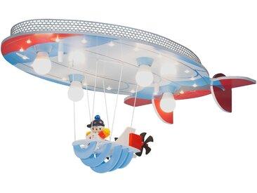 Elobra Kinderlampe Luftschiff, Blau Holz A++