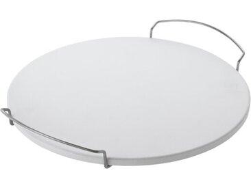 Rösle Pizzastein Schamott, Rund 42 cm, Chrom, Alu, Nickel, Stahl