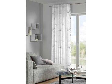 Fertiggardine Solveig 140 x 260 cm, Grau Polyester