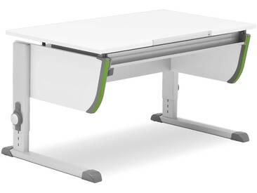 Moll Schreibtisch Joker, Weiß Kunststoff
