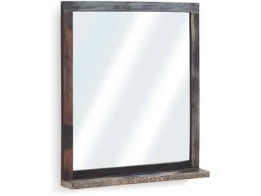 Wolf Möbel Spiegel Goa 67 x 78 cm, braun Holz