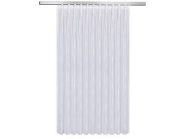 Fertiggardine Vera 175 x 200 cm, Weiß Polyester