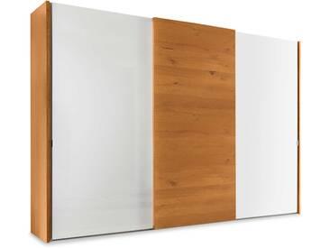 Staud Schwebetürenschrank Calando, 280 x 240 cm, Eiche Holzoptik