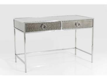 KARE Schreibtisch Moonscape 71571, silber Glas