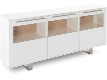Gwinner Sideboard Bellano, Weiß Holz