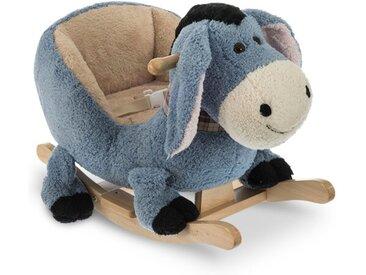 Schaukeltier Esel /Dunkelblau, Stoff