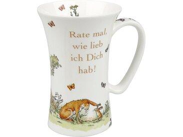 Kaffeebecher Rate mal 630 ml /Braun, Porzellan