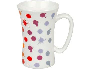 Kaffeebecher Viva Dots 630 ml /Bunt, Porzellan