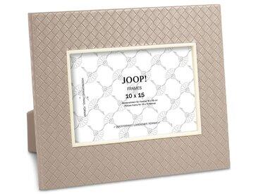 JOOP! Bilderrahmen Homeaccessoires 10 x 15cm /Grau, Lederoptik