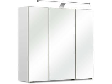 Pelipal Spiegelschrank Ascoli, Weiß Kunststoff A++