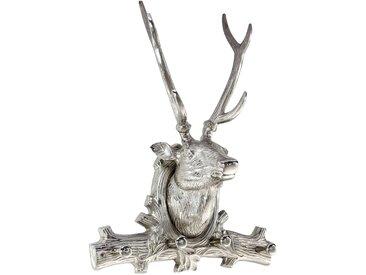 best home products Wandhaken Hirsch, silber Metall