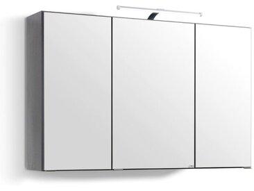 Held-Möbel Spiegelschrank Florida /Grau, Glas